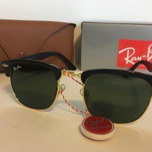 Ray-Ban black tint sunglasses